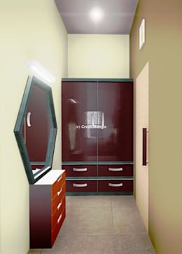 Residential Interiors: modern Dressing room by Crush Mango