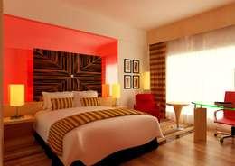 riiTiH Architects 의  침실