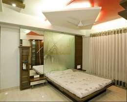 Bedroom Designs: modern Bedroom by Pancham Interiors