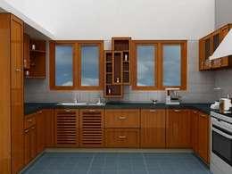 Cocinas de estilo moderno por Pancham Interiors