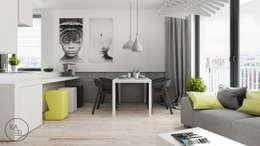 Comedores de estilo minimalista por KAEL Architekci