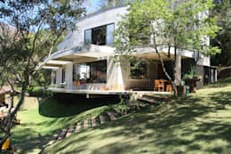 Casas de estilo moderno por Carlos Salles Arquitetura e Interiores