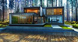 House 96: Дома в . Автор –  Aleksandr Zhydkov Architect