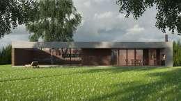 Casas de estilo moderno por D+D Studio