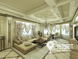 Гостиная для настоящего эстета: Гостиная в . Автор – Interior Design Studio Tut Yut