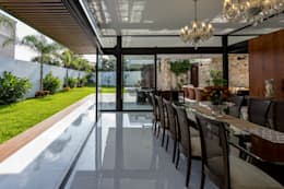 modern Dining room by P11 ARQUITECTOS