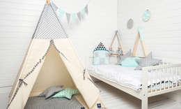 scandinavian Nursery/kid's room تنفيذ COZYDOTS