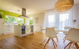 modern Dining room by Licht-Design Skapetze GmbH & Co. KG