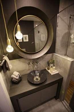 Esra Kazmirci Mimarlik의  화장실