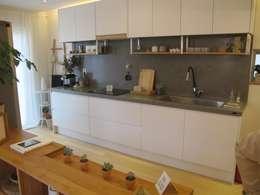 Projekty,  Kuchnia zaprojektowane przez 루트 주택