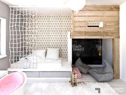 Dom z Antresolą: styl , w kategorii Pokój dziecięcy zaprojektowany przez GENERO