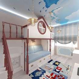 modern Nursery/kid's room by Студия дизайна интерьера Руслана и Марии Грин
