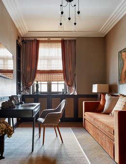 Projekty,  Domowe biuro i gabinet zaprojektowane przez VVDesign