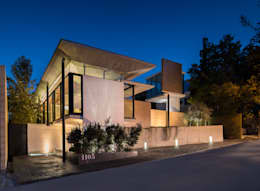 Projekty, minimalistyczne Domy zaprojektowane przez Idea Cubica