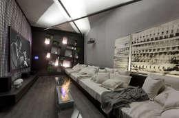MORAR MAIS 2015: Salas de estar modernas por Piacesi Arquitetos