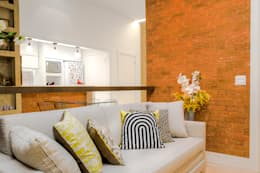 Salas de entretenimiento de estilo  por Miguel Arraes Arquitetura