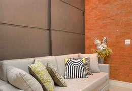 Da gema e do mundo: Salas multimídia ecléticas por Miguel Arraes Arquitetura