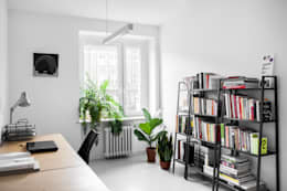 minimalistic Study/office by Joanna Kubieniec