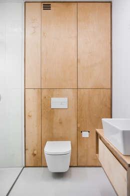 minimalistic Bathroom by Joanna Kubieniec