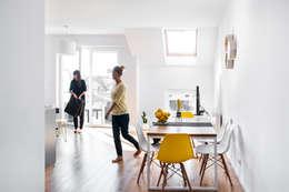 Mieszkanie Tychy: styl , w kategorii Salon zaprojektowany przez Joanna Kubieniec