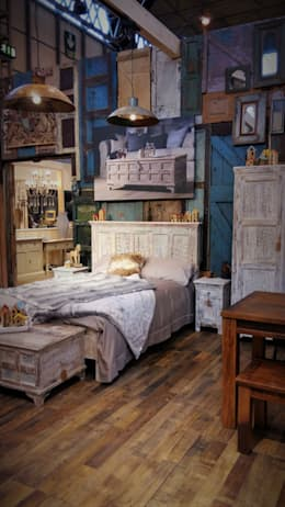 rustic Bedroom by Little Tree Furniture