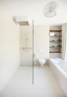 minimalistic Bathroom by LOVE architecture and urbanism