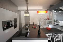 Projekty,  Kuchnia zaprojektowane przez Studio Ferlenda