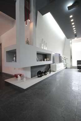Studio Ferlenda: modern tarz Oturma Odası