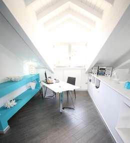 Projekty,  Domowe biuro i gabinet zaprojektowane przez Studio Ferlenda