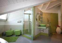 Projekty,  Łazienka zaprojektowane przez Studio Ferlenda