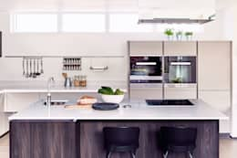 ALNO kitchen - as seen on Building The Dream: modern Kitchen by The ALNO Store Bristol