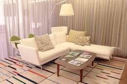 Oficinas y Tiendas de estilo  por DRM CONFECCION
