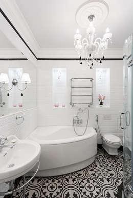 Квартира в г.Калининграде: Ванные комнаты в . Автор – AGRAFFE design