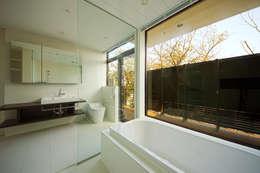 Projekty,  Łazienka zaprojektowane przez TERAJIMA ARCHITECTS