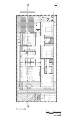 3 casas con alberca y sus planos inspiraci n total for Planos de casas 6x20