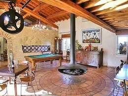mediterranean Living room by BATIR AU NATUREL