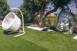 Jardines de estilo moderno por GRAÇA Decoração de Interiores