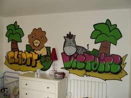 Chambres d'enfants: Chambre d'enfant de style de style eclectique par collectif la coulure
