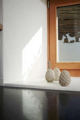 rustic Living room by Meier Architekten GmbH