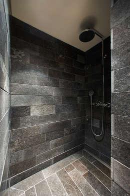 rustic Bathroom by Meier Architekten GmbH