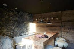 rustic Dining room by Meier Architekten GmbH