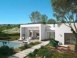 Casas de estilo clásico por GESTIÓN TÉCNICA DE PROYECTOS PROYECTOS Y OBRAS, SL.