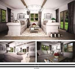 classic Living room by WZ STUDIO