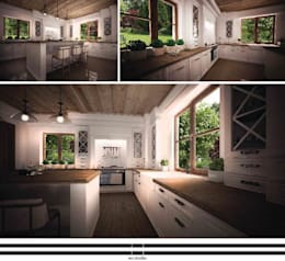 classic Kitchen by WZ STUDIO