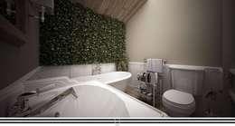 classic Bathroom by WZ STUDIO