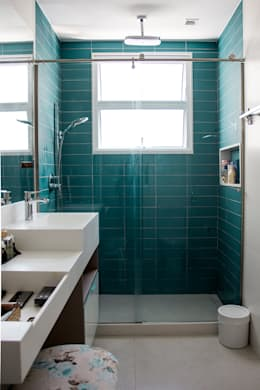 Zo tegel je de muren van je badkamer
