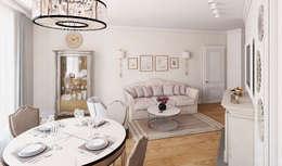Salon de style de style eclectique par Be In Art