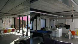 Habitation DNH: Salle à manger de style de style Moderne par VORTEX atelier d'architecture
