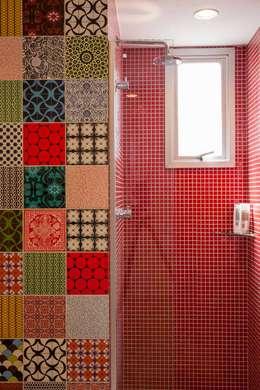 浴室 by Nautilo Arquitetura & Gerenciamento