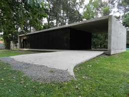 Casa Bunker en La Reja, Moreno: Casas prefabricadas de estilo  por dammuebles